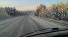 Зимняя северная дорога