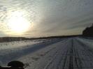 Северное небо и дорога